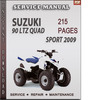 Thumbnail Suzuki 90 LTZ Quad Sport 2009 Factory Service Repair Manual Download