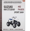 Thumbnail Suzuki 400 LTZ Quad Sport 2009 Factory Service Repair Manual Download
