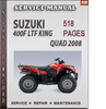 Thumbnail Suzuki 400F LTF King Quad 2008 Factory Service Repair Manual Download