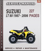 Thumbnail Suzuki LT 80 1987 - 2006 Factory Service Repair Manual Download