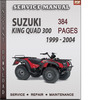 Thumbnail Suzuki King Quad 300 1999 - 2004 Factory Service Repair Manual Download