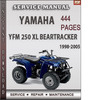 Thumbnail Yamaha YFM 250 XL Beartracker 1998-2005 Factory Service Repair Manual Download