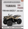 Thumbnail Yamaha YFM 400 Grizzly 2000-2008 Factory Service Repair Manual Download