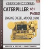 Thumbnail Caterpiller Engine Diesel Model 3508 Techinical Manual Maintenance Factory Service Repair Manual Download
