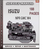 Thumbnail Isuzu Npr Gmc W4 Factory Service Repair Manual Download