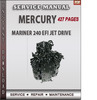 Thumbnail Mercury Mariner 240 EFI Jet Drive Service Repair Manual Down