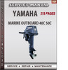Thumbnail Yamaha Marine Outboard 40C 50C Factory Service Repair Manual