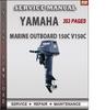 Thumbnail Yamaha Marine Outboard 150C V150C Factory Service Repair Man