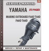 Thumbnail Yamaha Marine Outboard F50D T50D F60D T60D Factory Service R