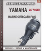 Thumbnail Yamaha Marine Outboard F90D Factory Service Repair Manual