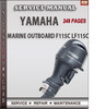 Thumbnail Yamaha Marine Outboard F115C LF115C Factory Service Repair M