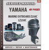 Thumbnail Yamaha Marine Outboard Z250C LZ250C Factory Service Repair M
