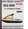 Thumbnail Seadoo 3D - 3D Premium 2-Strokes 2005 Shop Service Repair Ma