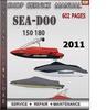Thumbnail Seadoo 150 180 2011 Shop Service Repair Manual Download