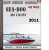 Thumbnail Seadoo 200 210 230 2011 Shop Service Repair Manual Download