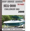 Thumbnail Seadoo Challenger 1800 2000 Shop Service Repair Manual Downl