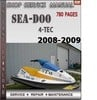 Thumbnail Seadoo 2008 2009 4-TEC Shop Service Repair Manual Download
