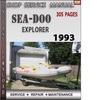 Thumbnail Seadoo EXPLORER 1993 Shop Service Repair Manual Download