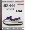 Thumbnail Seadoo GTI GTI LE 2002 Shop Service Repair Manual Download