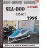 Thumbnail Seadoo GTS GTI 1996 Shop Service Repair Manual Download