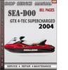 Thumbnail Seadoo GTX 4-TEC Supercharged 2004 Shop Service Repair Manua