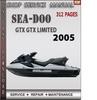 Thumbnail Seadoo GTX GTX Limited 2005 Shop Service Repair Manual Downl