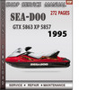 Thumbnail Seadoo GTX 5863 XP 5857 1995 Shop Service Repair Manual Down