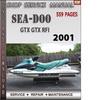 Thumbnail Seadoo GTX GTX RFI 2001 Shop Service Repair Manual Download