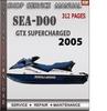 Thumbnail Seadoo GTX Supercharged 2005 Shop Service Repair Manual Down