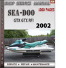 Thumbnail Seadoo GTX GTX RFI 2002 Shop Service Repair Manual Download