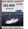 Thumbnail Seadoo GTX RFI GS 1998 Shop Service Repair Manual Download