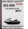 Thumbnail Seadoo GTX LIMITED IS GTX 2011 Shop Service Repair Manual Do