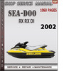 Thumbnail Seadoo RX RX DI 2002 Shop Service Repair Manual Download