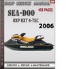 Thumbnail Seadoo RXP RXT 4-Tec 2006 Shop Service Repair Manual Downloa