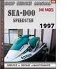 Thumbnail Seadoo SPEEDSTER 1997 Shop Service Repair Manual Download