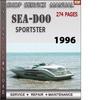Thumbnail Seadoo Sportster 1996 Shop Service Repair Manual Download