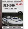 Thumbnail Seadoo Sportster 1800 1999 Shop Service Repair Manual Downlo