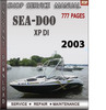 Thumbnail Seadoo XP DI 2003 Shop Service Repair Manual Download