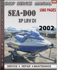 Thumbnail Seadoo XP LRV DI 2002 Shop Service Repair Manual Download