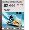 Thumbnail Seadoo 3D RFI 2006 Operators Guide Manual Download