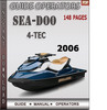 Thumbnail Seadoo 4-TEC 2006 Operators Guide Manual Download