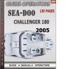 Thumbnail Seadoo Challenger 180 2005 Operators Guide Manual Download