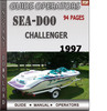 Thumbnail Seadoo Challenger 1997 Operators Guide Manual Download