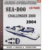 Thumbnail Seadoo Challenger 2000 2004 Operators Guide Manual Download
