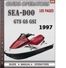Thumbnail Seadoo GTS GS GSI 1997 Operators Guide Manual Download