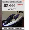 Thumbnail Seadoo GTS STX 1995 Operators Guide Manual Download
