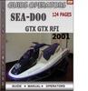 Thumbnail Seadoo GTX GTX RFI 2001 Operators Guide Manual Download