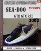 Thumbnail Seadoo GTX GTX RFI 2002 Operators Guide Manual Download