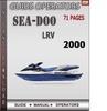 Thumbnail Seadoo LRV 2000 Operators Guide Manual Download
