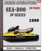 Thumbnail Seadoo SP Series 1999 Operators Guide Manual Download